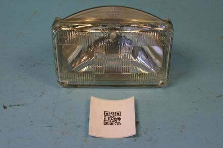 160mm Sealed Beam Headlight, Used Fair